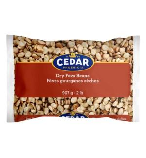 Cedar Dry Fava Beans 10/907 gr