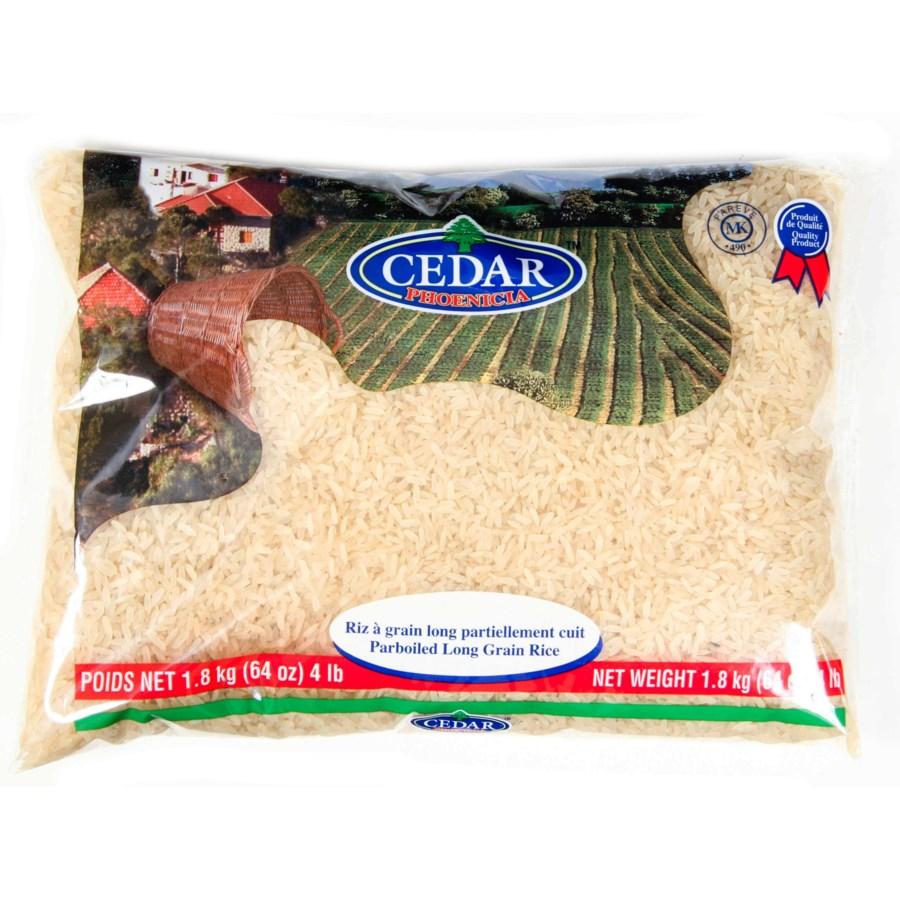 Cedar Parboiled Rice 10/907 gr