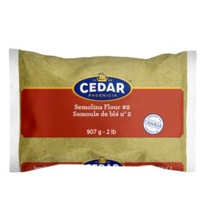 Cedar Semolina #2 Durum 10/907 gr