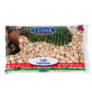 Cedar Dry Lupini Beans 10/907 gr