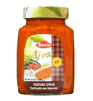 Sera Hot Ajvar 12/720 ml