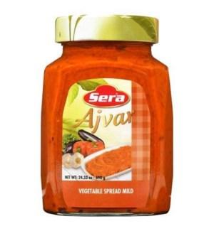 Sera Mild Ajvar 12/720 ml