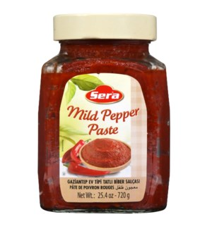 Sera Mild Pepper Paste 12/720 ml