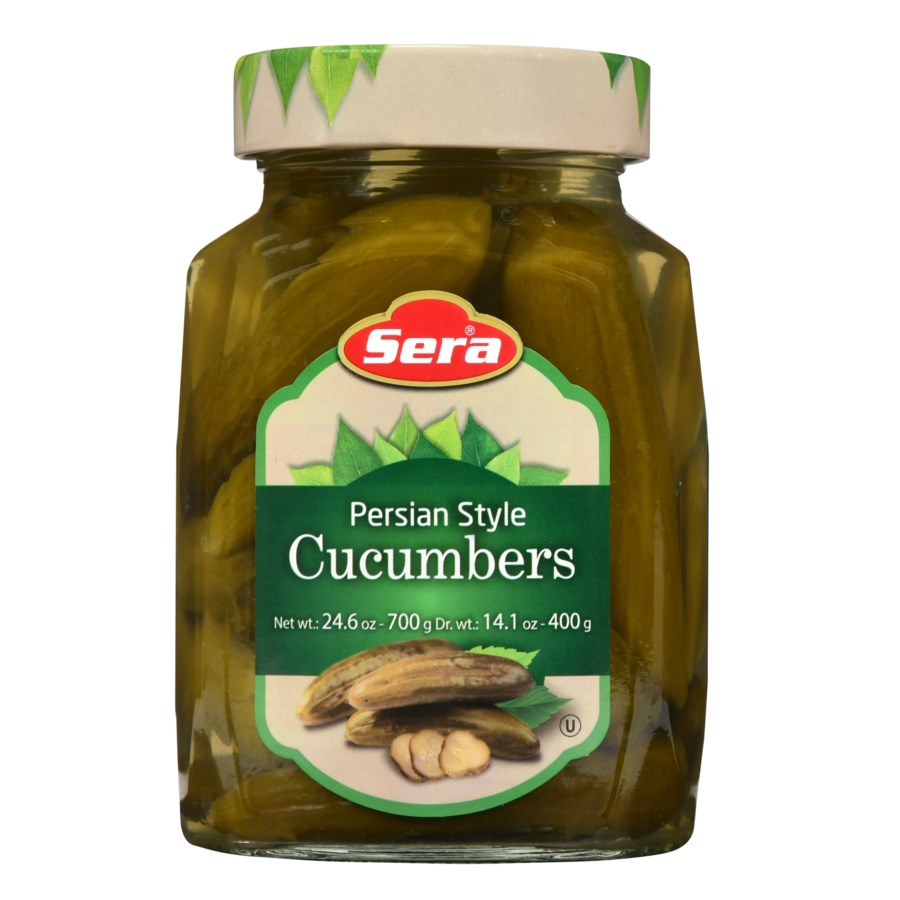 Sera Pickled Cucumber Middle Eastern 12/720 ml