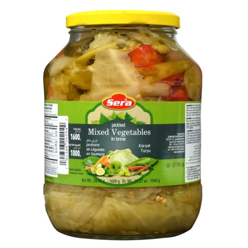 Sera Pickled Mixed Vegetables 6/1700 ml