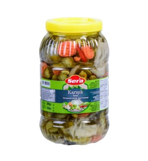 Sera Pickled Mixed Vegetables 6/3000 ml