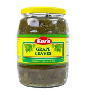 Sera Organic Grape Leaves 12/1 lb