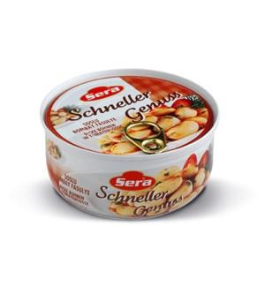 Sera Giant Beans in Tomato Sauce w/fork 12/314 ml