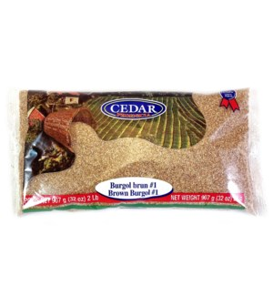 Cedar Bulgur #1 BROWN 10/907 gr