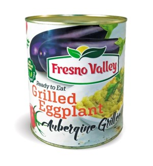 Fresno Valley Grilled Eggplant (can) 6/95 oz