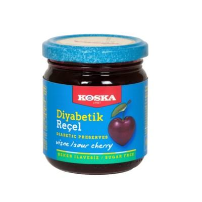 Koska Diabetic Sour Cherry Preserves 12/240 gr