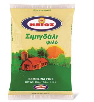 Helios Semolina Fine 12/500 gr