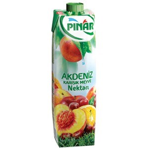 Pinar Med Mixed Fruit Nectar 12/1 lt