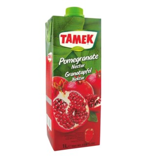 Tamek Pomegranate Juice (Tetra) 12/1 lt