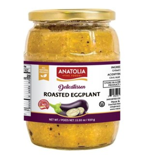 Anatolia Roasted Eggplant 12/720 ml
