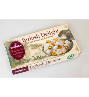 Koska Turkish Delight (Pist.Hazel.Co.) 12/500 gr