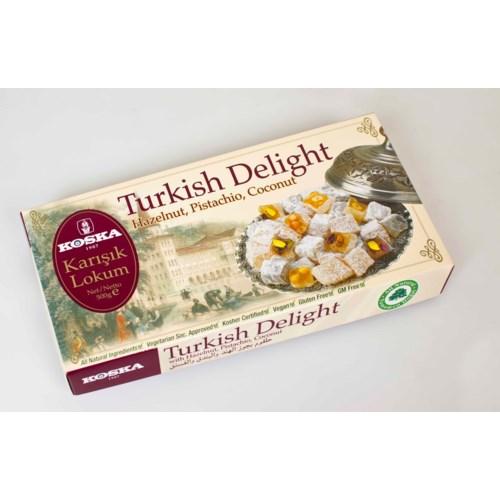 Koska Turkish Delight (Pist.Hazel.Co.) 12/500 gr
