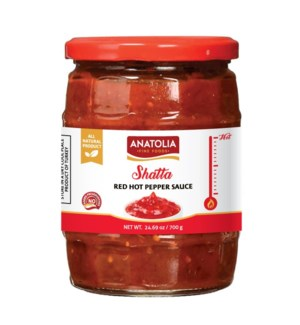 Anatolia Pepper Sauce (Shatta) 12/720 ml