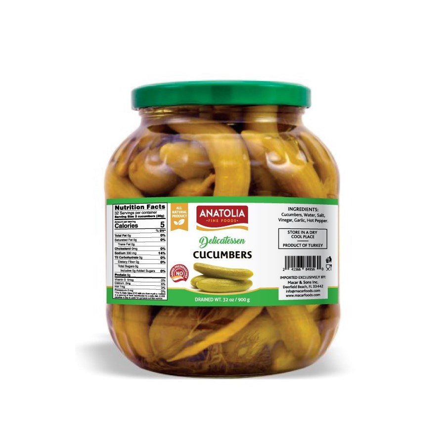 Anatolia Cucumber Pickles 6/1700 ml