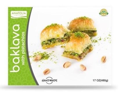 Anatolia Baklava w/pist 12/480 gr