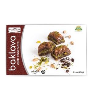 Anatolia Baklava w/Chocoate 12/480 gr