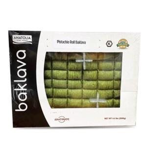 Anatolia Pistachio Roll Tray 4.4 lb