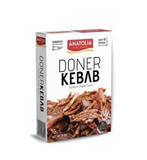Anatolia Sliced Beef Doner 12/8 oz