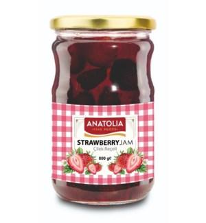 Anatolia Strawberry Preserves 12/800 gr