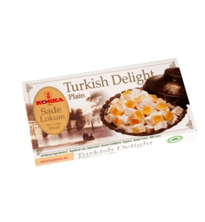 Koska Turkish Delight Plain 12/500 gr