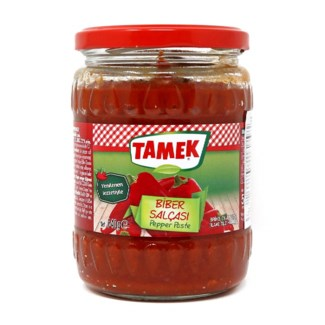 Tamek Pepper Paste MILD (glass) 12/550 gr