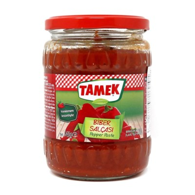Tamek Pepper Paste MILD (glass) 12/550 gr