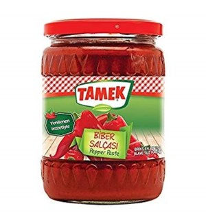 Tamek Pepper Paste HOT (glass) 12/550 gr