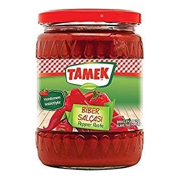 Tamek Pepper Paste HOT (glass) 12/550 gr
