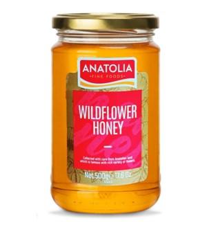 Anatolia Wildflower Honey 12/500 gr