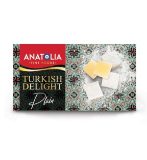 Anatolia Plain Turkish Delights 12/454 gr