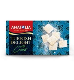 Anatolia Turkish Delight w/Coconut 12/450 gr