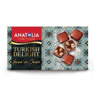 Anatolia Turkish Delight w/Hazelnut & Chocolate 12/450 gr