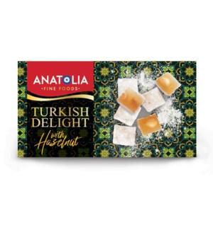 Anatolia Turkish Delight w/Hazel 12/450 gr