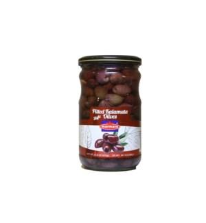 Marmara Pitted Kalamata Olives 12/660 gr