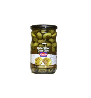 Marmara Grilled Pitted Olives 12/660 gr