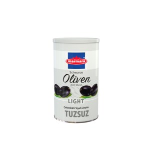 Marmara Olives Low Salt (White) Can 6/800 gr