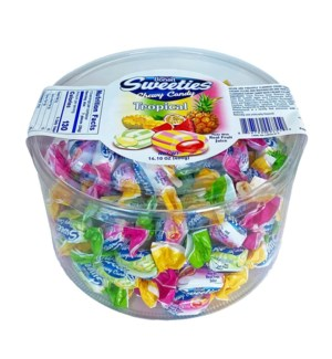 Bonart Sweeties Tropical Chewy Candy 12/400 gr