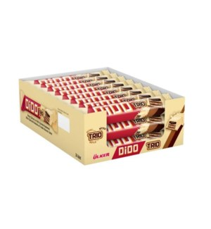Ulker Trio Wafer White Chocolate ***inner box*** 24/35 gr