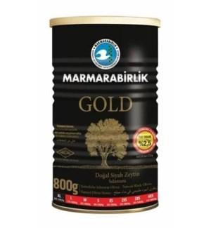 Marmarabirlik Black Olives GOLD XL 6/800 gr