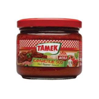 Tamek Breakfast Sasuce HOT (glass) 12/300 gr
