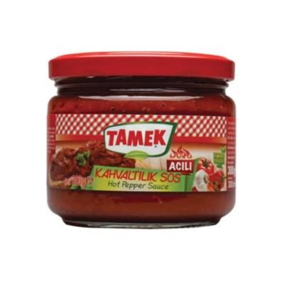 Tamek Breakfast Sasuce HOT (glass) 12/300 gr