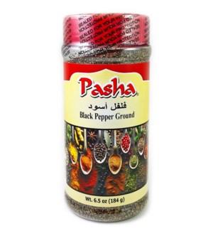 Pasha Black Pepper Ground 12/7 oz