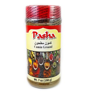 Pasha Cumin Ground 12/7 oz