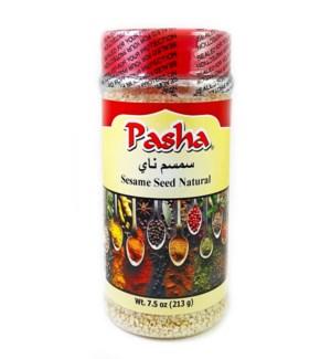 Pasha Sesame Seeds Hulled 12/8 oz