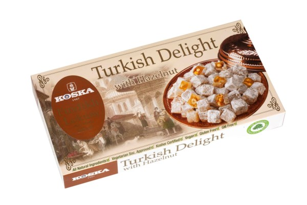 Koska Turkish Delight w/Hazelnut 12/500 gr